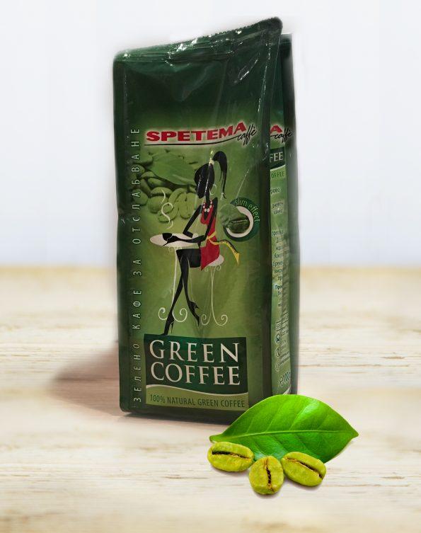 Зелено кафе мляно SPETEMA 0,100гр