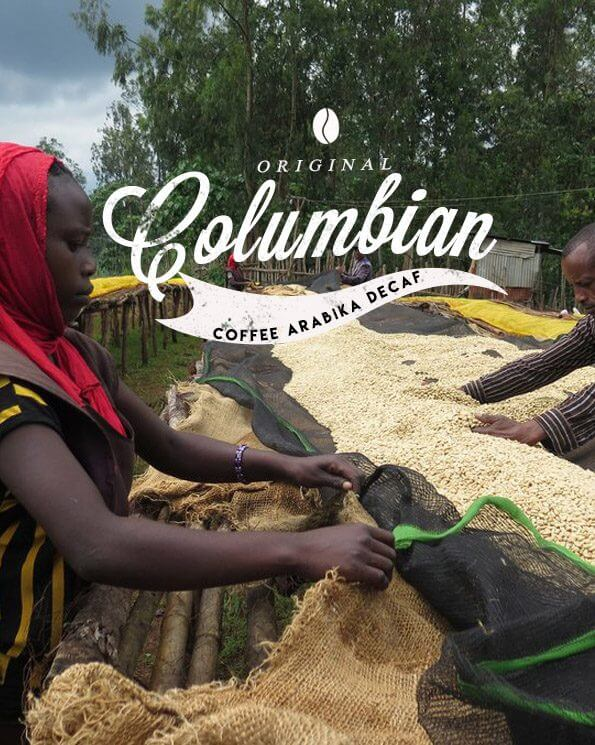 Безкофеиново Колумбия кафе- Colombian Decaf Coffee