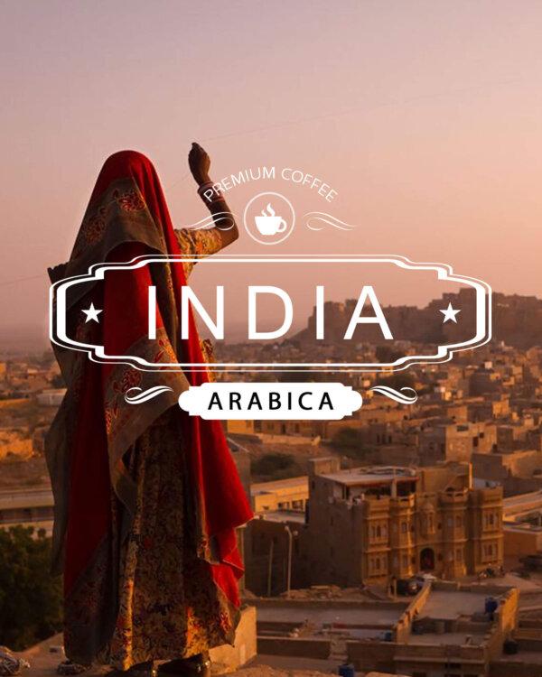 Кафе на зърна Индия арабика  – India Plantation Arabica