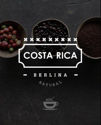 Кафе на зърна Коста Рика – Costa Rica Berlina Natural