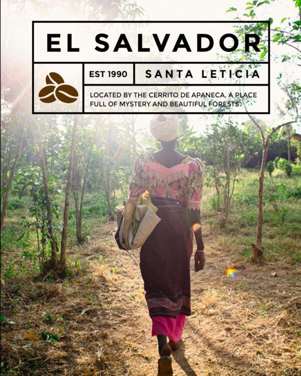Кафе на зърна  Ел Салвадор – El Salvador Santa Leticia