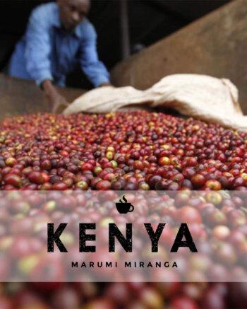 Кафе на зърна Кения – Kenya Marumi Miranga