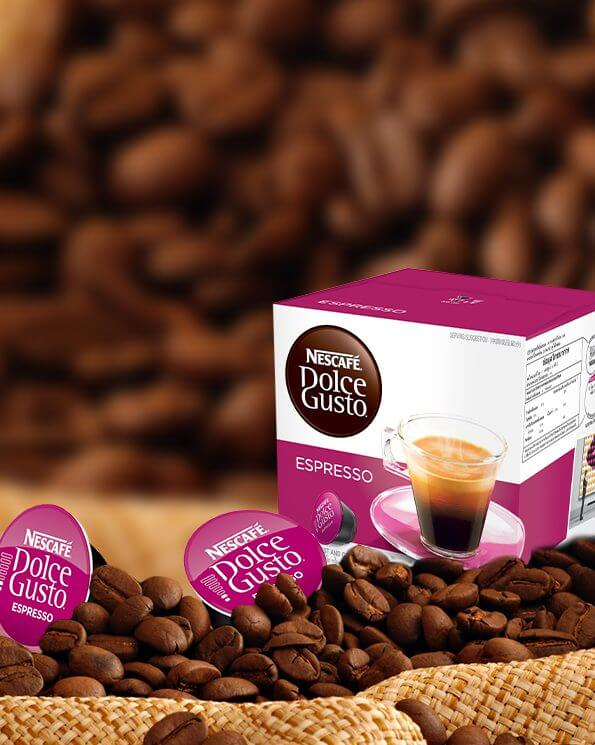 Капсули Nescafe Dolce Gusto, Espresso