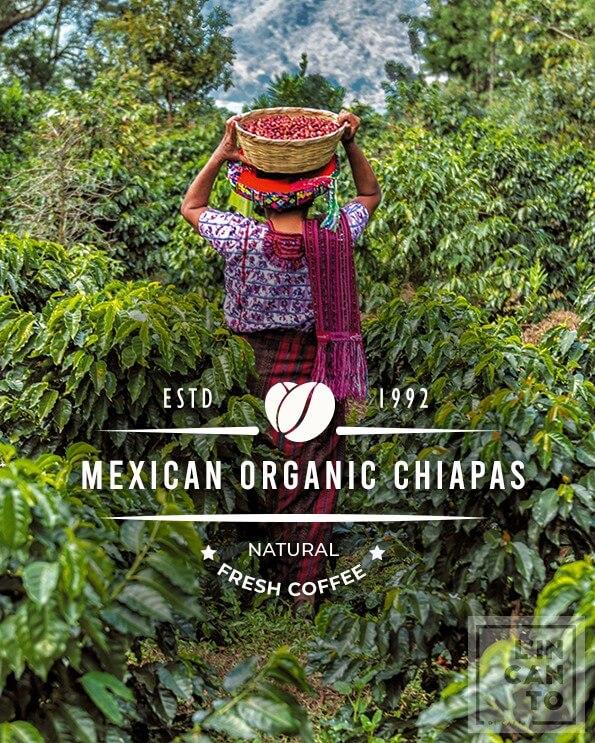 Кафе на зърна Мексико – Mexico Organic Chiapas