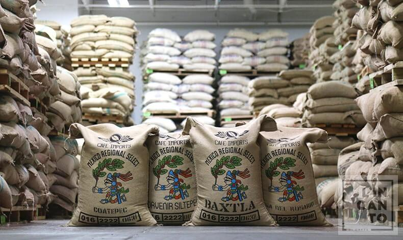 кафе на зърна мексико