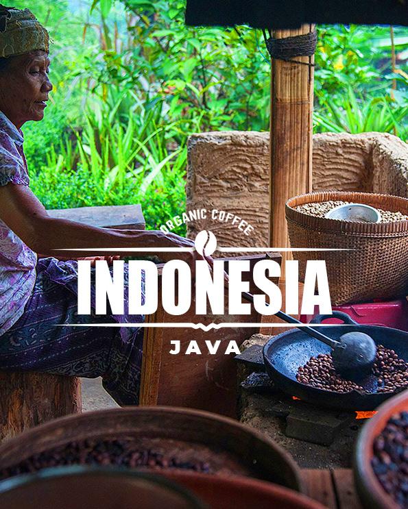 Кафе на зърна Индонезия – Indonesia Java dark roasted